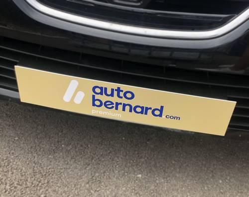 entreprise création cache-plaque voiture