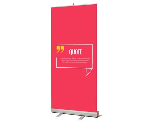 impression roll-up entreprise