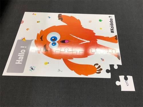 puzzle publicitaire personnalisé