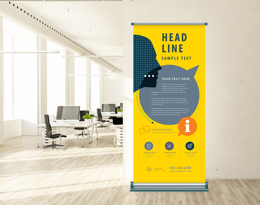 roll-up grand format