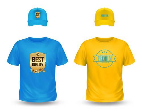transfert textile marquage sur t-shirt et casquettes