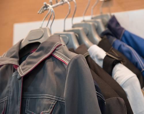 transfert textile pour vêtement de travail
